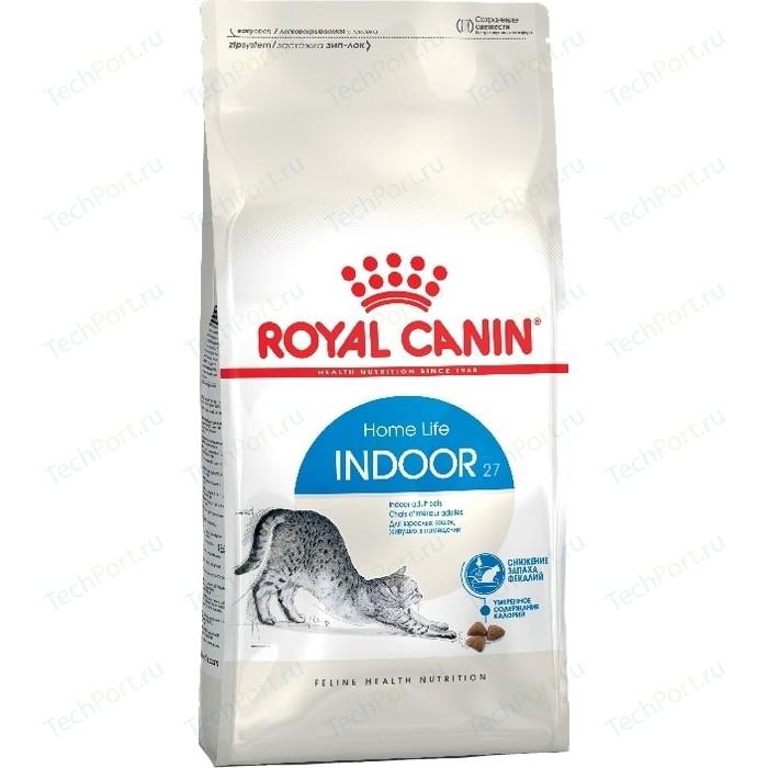 Сухой корм Royal Canin Indoor 27 для кошек живущих в закрытом помещении 2кг (545020)