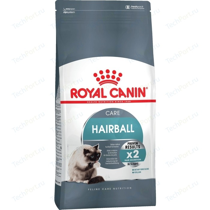 Сухой корм Royal Canin Hairball Care выведение шерсти из желудка для кошек 2кг (645020)