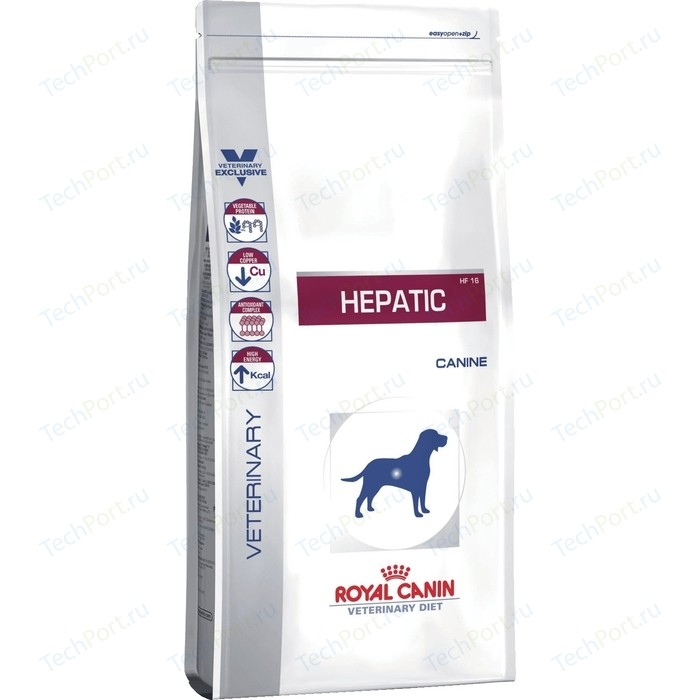 Сухой корм Royal Canin Hepatic HF16 Canine диета при заболеваниях печени для собак 12кг (606120)
