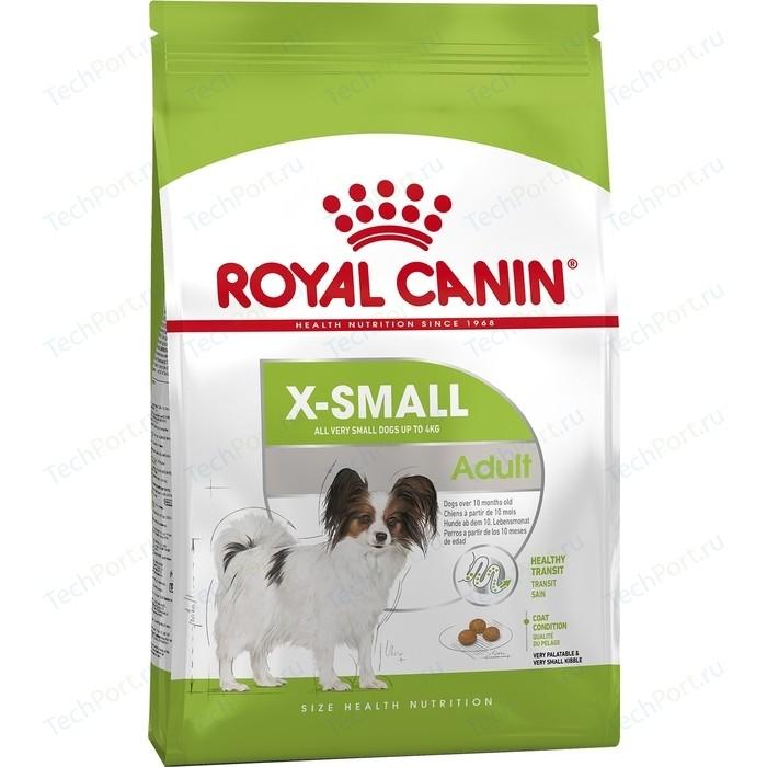Сухой корм Royal Canin X-Small Adult для собак миниатюрных пород 3кг (315030)