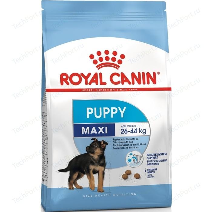 Сухой корм Royal Canin Maxi Puppy (Junior) для щенков крупных пород 15кг (192150)