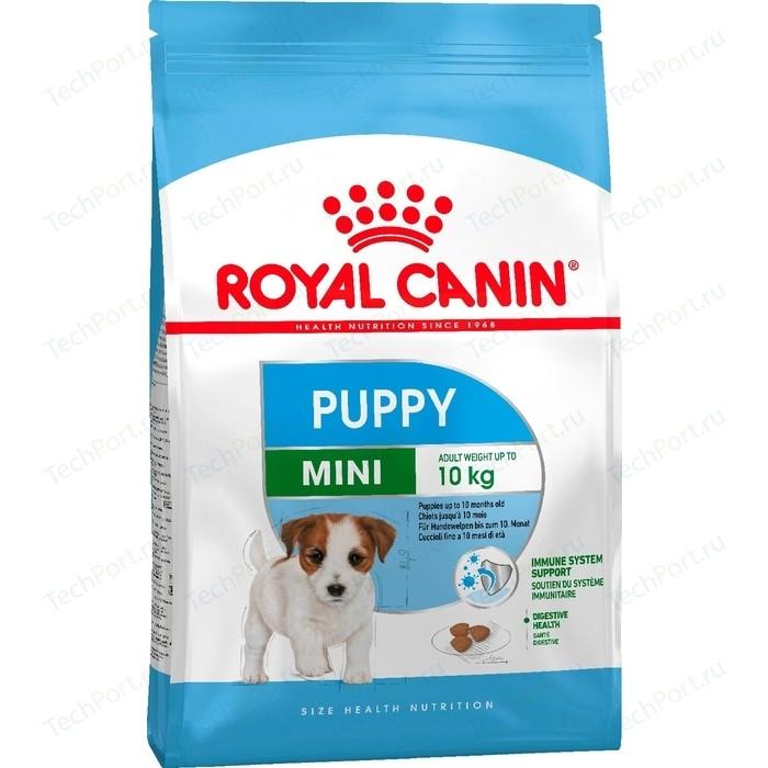 Сухой корм Royal Canin Mini Puppy (Junior) для щенков мелких пород до 10 месяцев 2кг (305020)