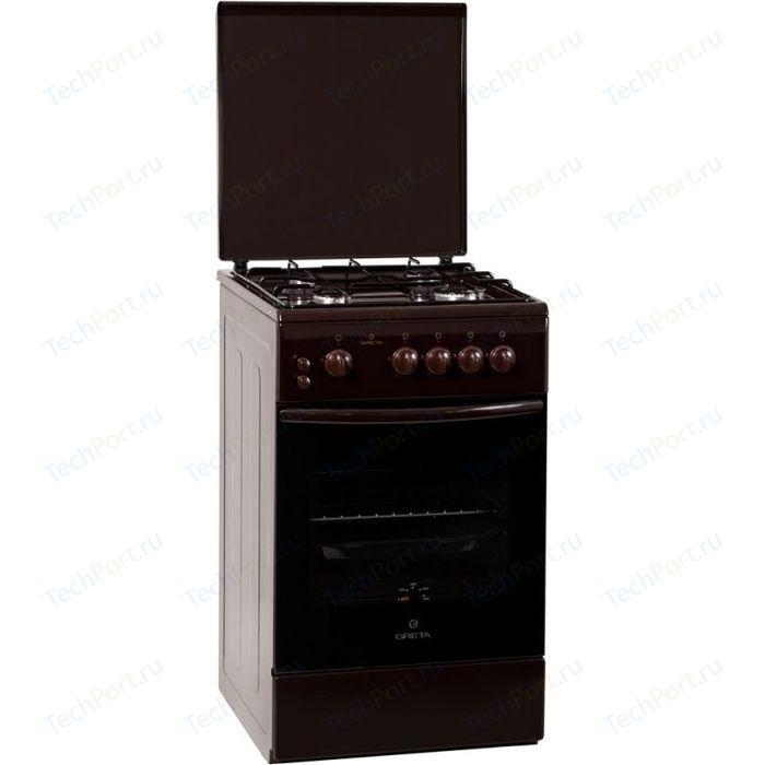 Газовая плита GRETA 1470-00 исп. 06 коричневая
