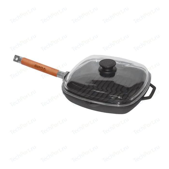Сковорода-гриль со съемной ручкой Биол 28см (1028С)
