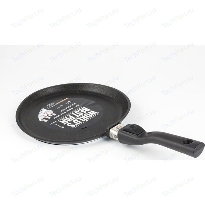 Сковорода для блинов AMT Gastroguss d 24см Frying Pans Titan Induction (AMT I-124) кастрюля 3 л amt gastroguss frying pans titan induction amt i 920