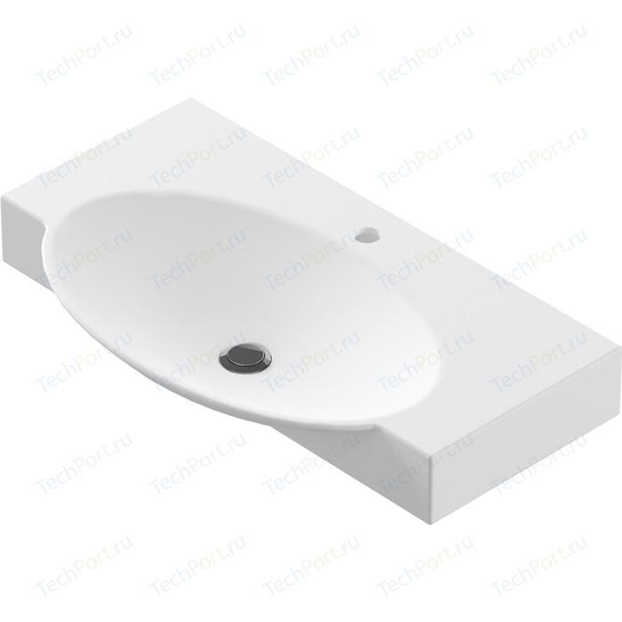 Раковина мебельная Sanita luxe Infinity 76 белый (INF76SLWB01)