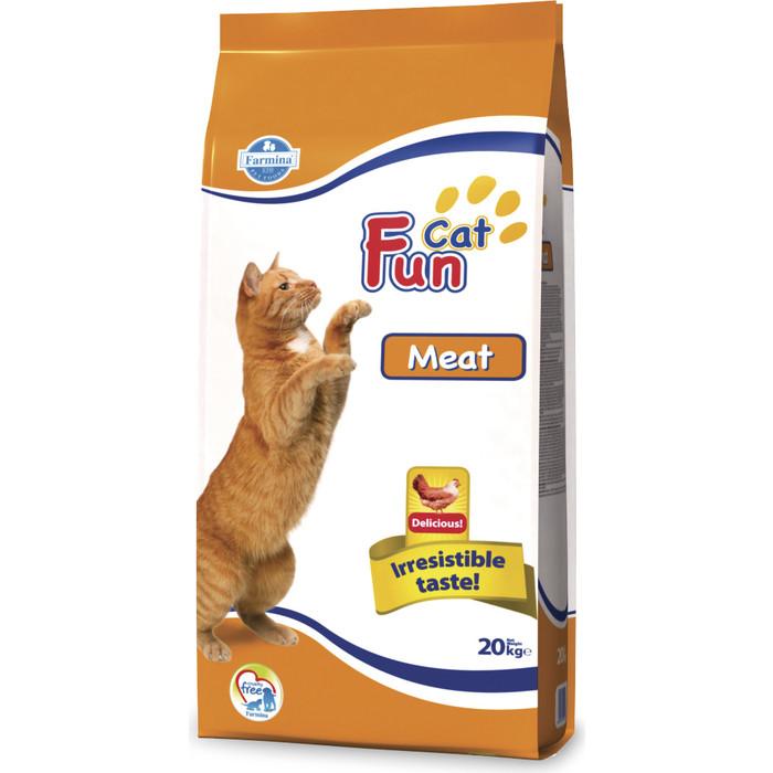 Сухой корм Farmina Fun Cat Adult Meat с мясом для взрослых кошек 20кг