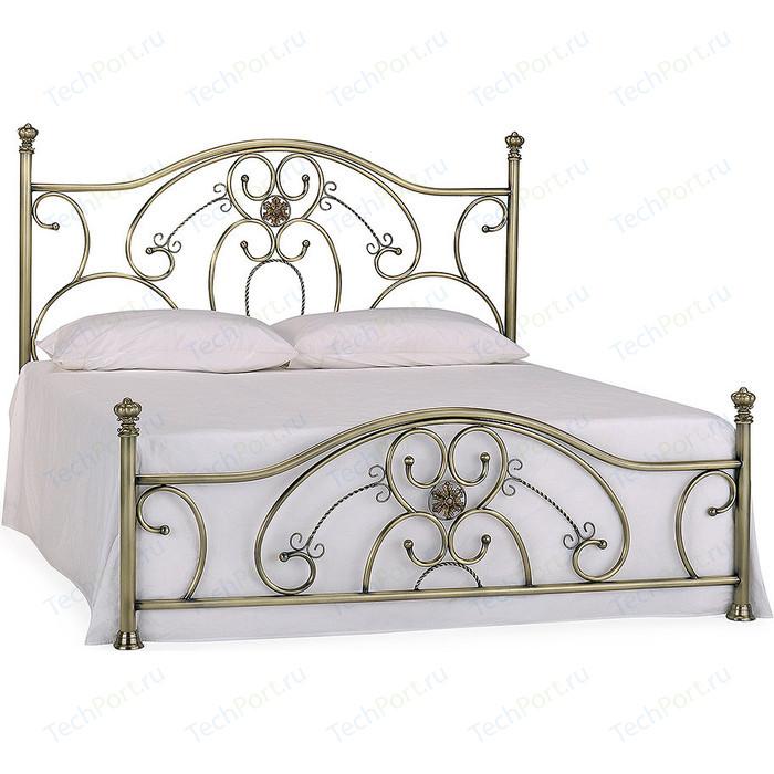 Кровать металлическая TetChair ELIZABETH 160x200, цвет античная медь