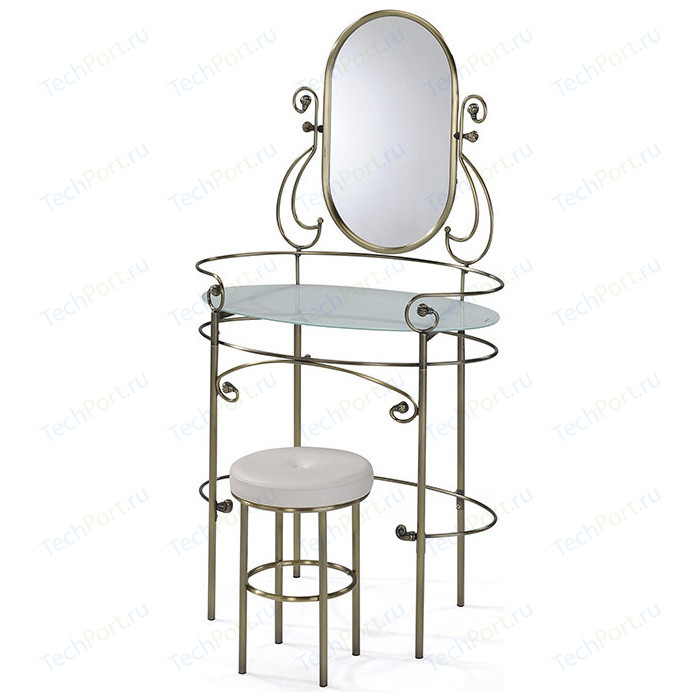 Столик туалетный TetChair ALBERT, цвет античная медь
