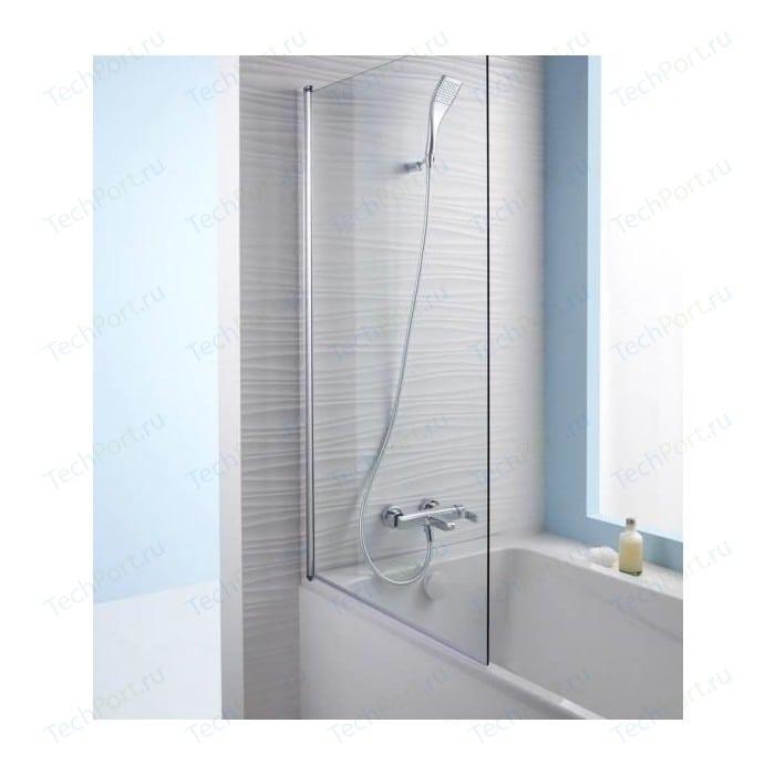 Шторка на ванну Jacob Delafon Struktura 80 прозрачная, хром (E6D042-GA)