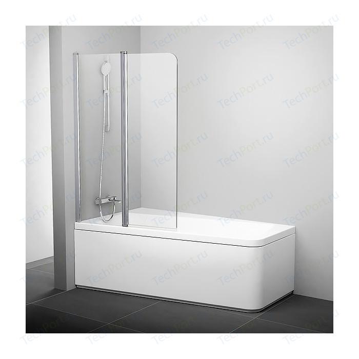 Шторка на ванну Ravak 10 10CVS2 100 L прозрачная, хром, левая (7QLA0C03Z1)