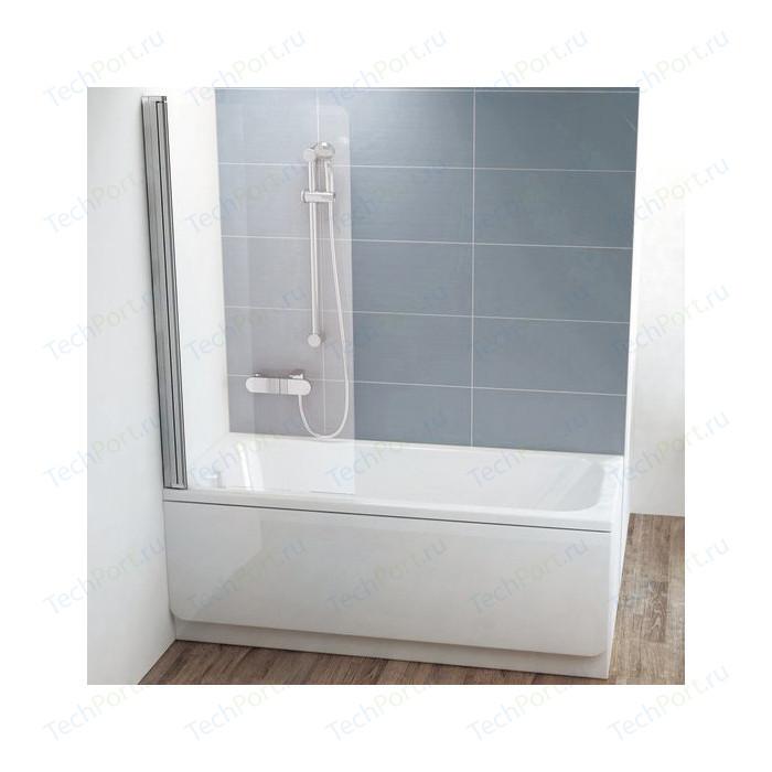 Шторка на ванну Ravak Chrome CVS1-80 L прозрачная, хром, левая (7QL40C00Z1)
