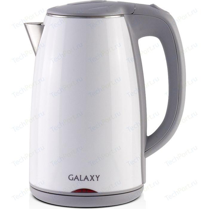 Чайник электрический GALAXY GL0307, белый