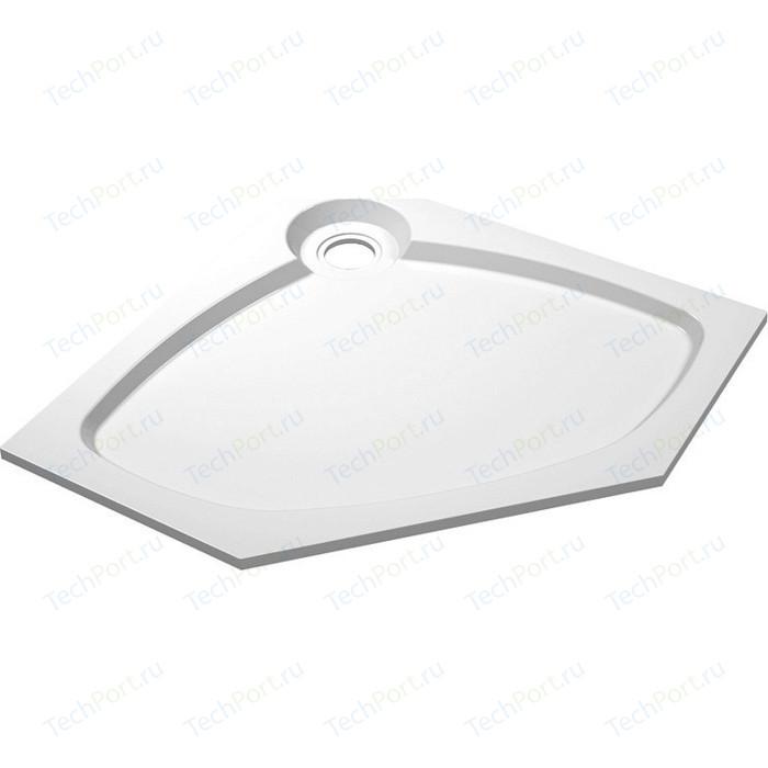 Душевой поддон Cezares Tray P 100 пятиугольный (TRAY-S-P-100-56-W)