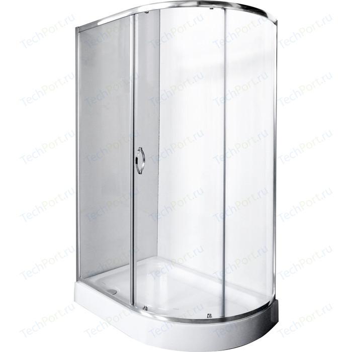 Душевой уголок Rush Fiji 120x80 прозрачный, хром (FI-A180120-L)