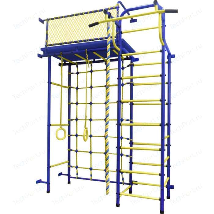 Детский спортивный комплекс Пионер 10С сине/жёлтый