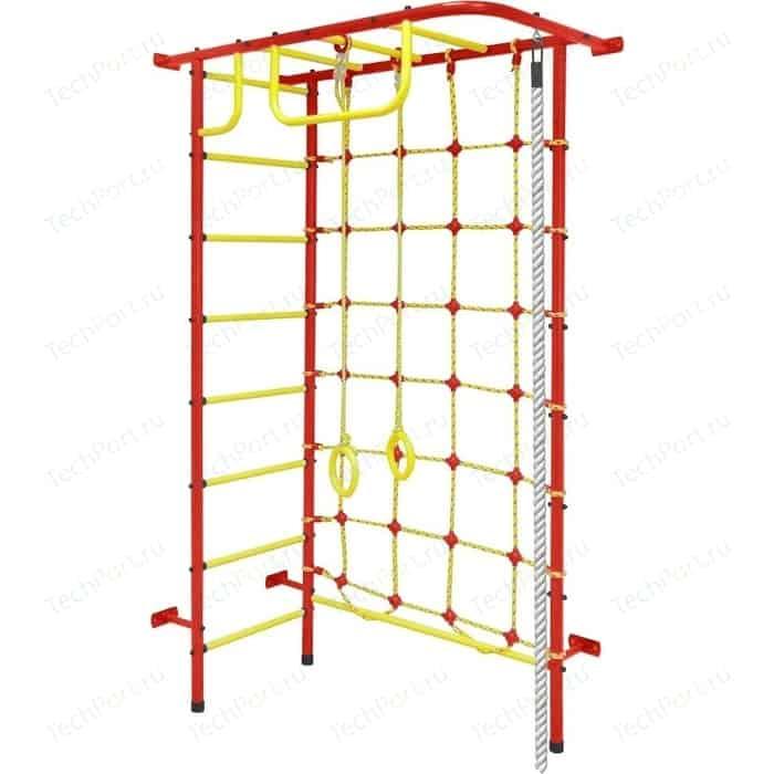 Детский спортивный комплекс Пионер 8 красно/жёлтый