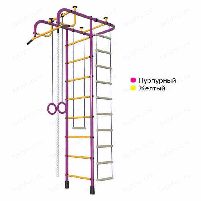 Детский спортивный комплекс Пионер АМ пурпурно/желтый