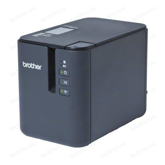Фото - Принтер для печати наклеек Brother PT-P900W принтер для печати наклеек brother pte110vpr1bund бандл принтер pt e110vp в кейсе в комплекте с лентами tze
