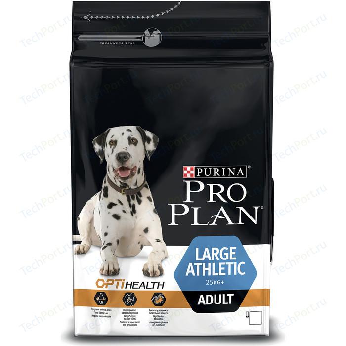 Сухой корм PRO PLAN OPTIHEALTH Adult Large Athletic с курицей и рисом для собак крупных пород c атлетическим телосложением 3кг (12272234)