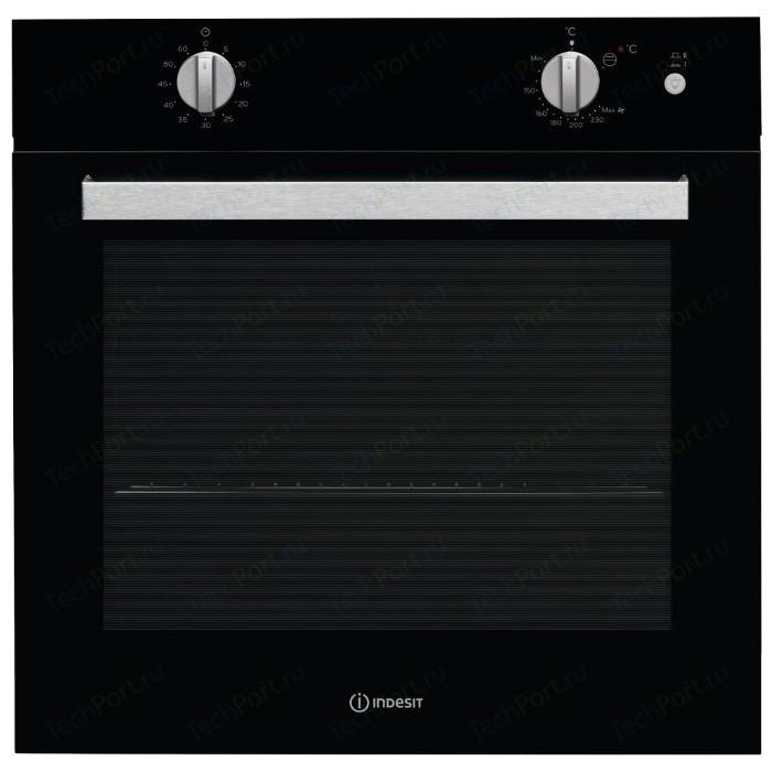 Газовый духовой шкаф Indesit IGW 620 BL духовой шкаф indesit igw 620 ix серебристый