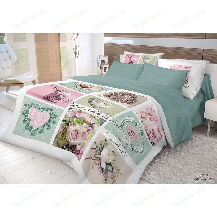 Комплект постельного белья Волшебная ночь 1,5 сп, ранфорс, Frame с наволочками 70x70 (704066)