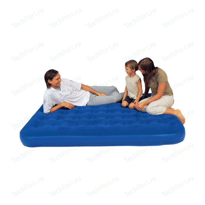Надувной матрас Bestway Flocked Air Bed (Double) 137х191х22см, 67002 BW