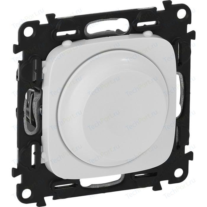 Светорегулятор Legrand Valena Allure поворотный без нейтрали белый 752760