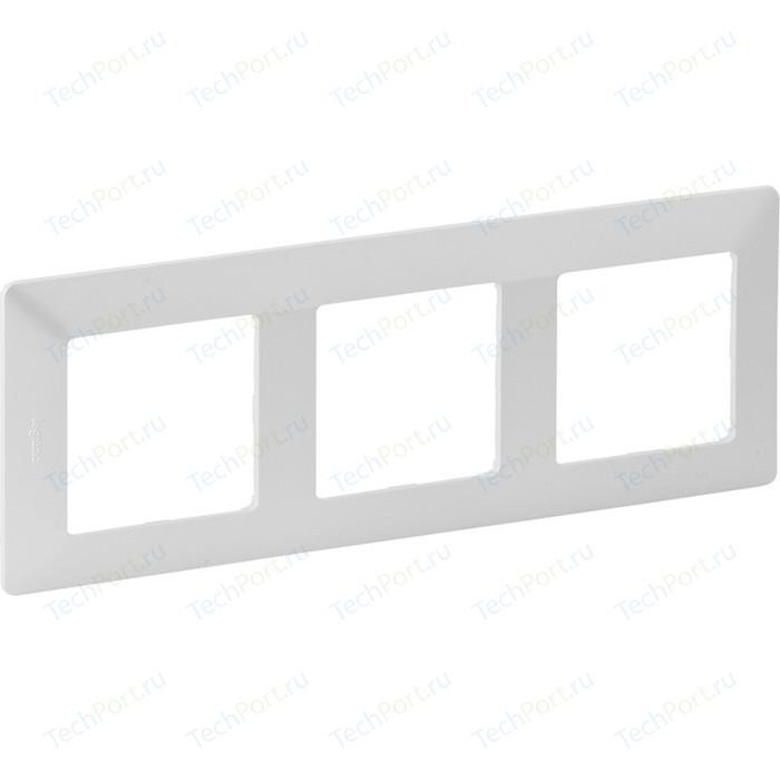Рамка Legrand 3-постовая Valena Life Жемчуг 754143