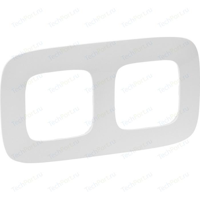 Рамка Legrand 2-постовая Valena Allure Жемчуг 754412