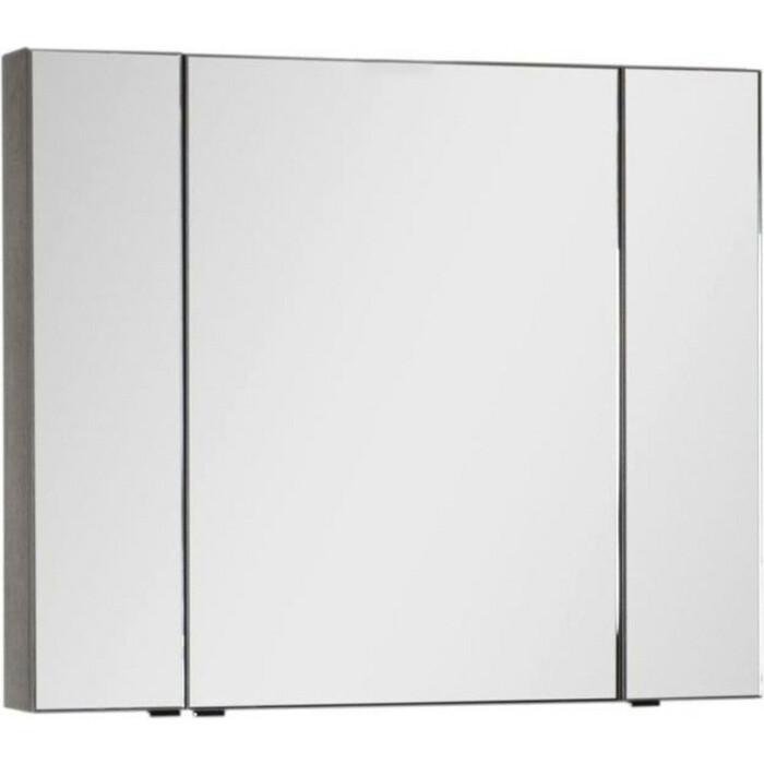 Зеркальный шкаф Aquanet Эвора 100 дуб антик (182998)