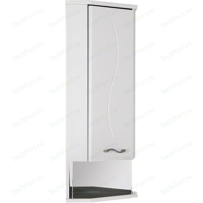 Шкафчик Aquanet Моника 35 R угловой, белый (186781)