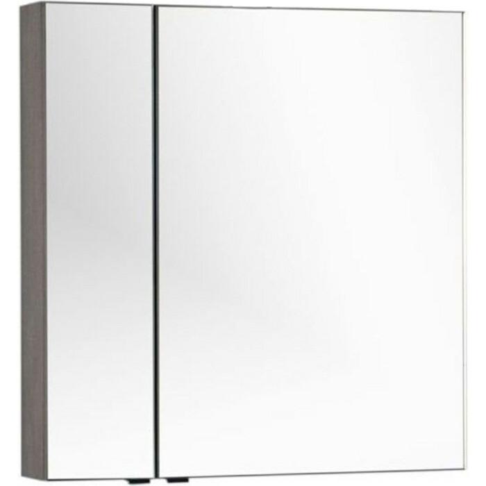 Зеркальный шкаф Aquanet Эвора 80 дуб антик (182741)