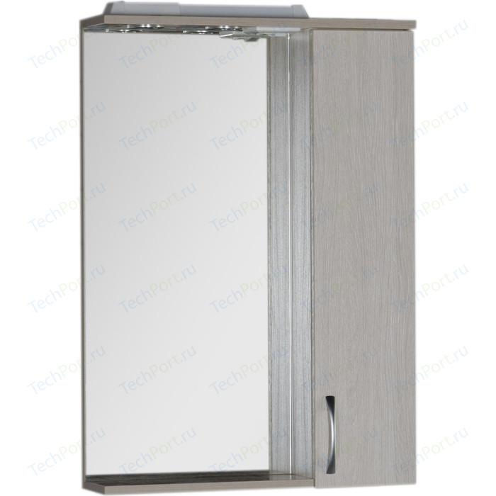 Зеркало-шкаф Aquanet Донна 60 белый дуб (169038)
