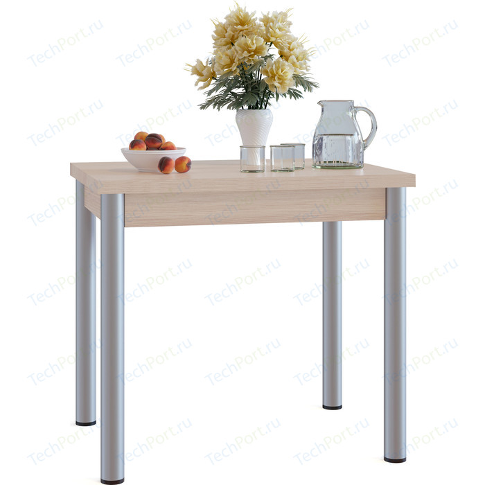 Стол обеденный СОКОЛ СО-1м беленый дуб