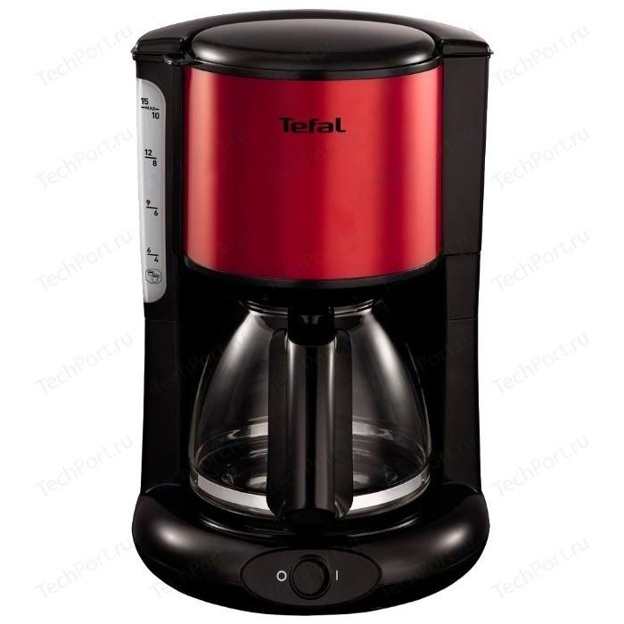 Кофеварка Tefal CM361E38 красный