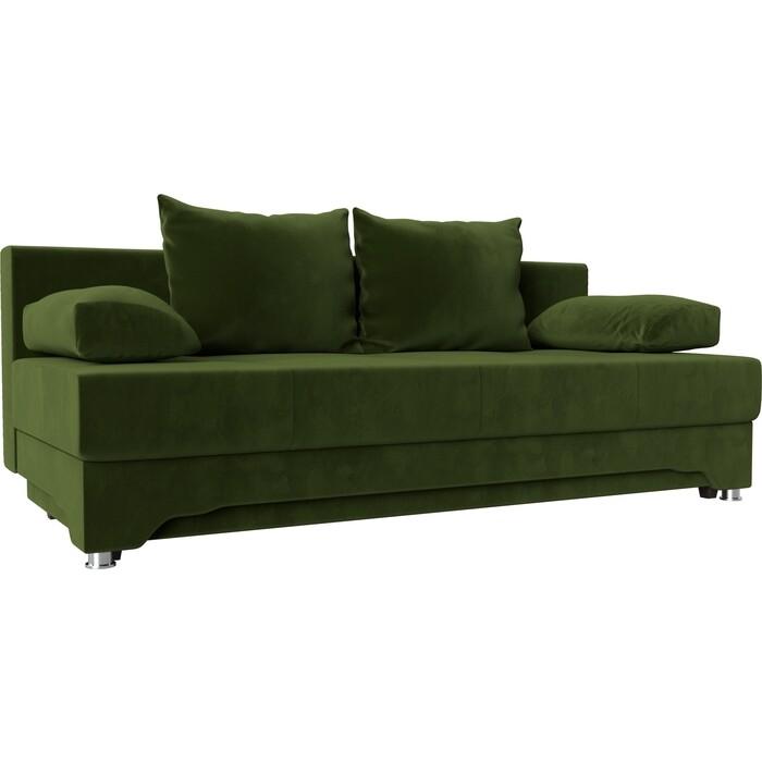 Диван-еврокнижка АртМебель Ник-2 микровельвет зеленый koss gmr 545 air usb черный