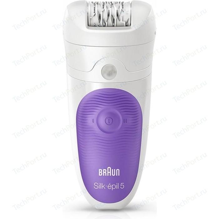 Эпилятор Braun Silk-pil 5 5-541 Wet&Dry белый/фиолетовый