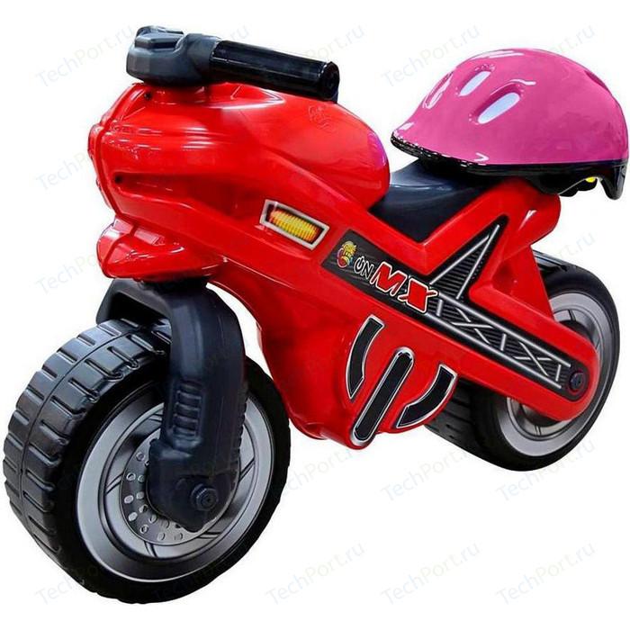 Каталка-мотоцикл Coloma 46765 MOTO MX со шлемом