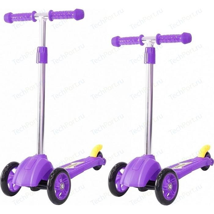 Самокат 3-х колесный RT 16 4в2 MINI ORION фиолетовый (пакет)