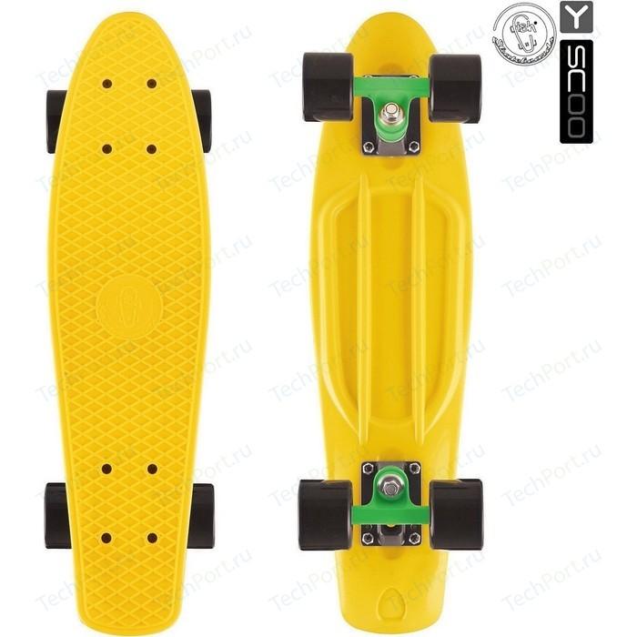 Скейтборд RT 402-G Big Fishskateboard 27 винил 68,6х19 с сумкой GREEN/black