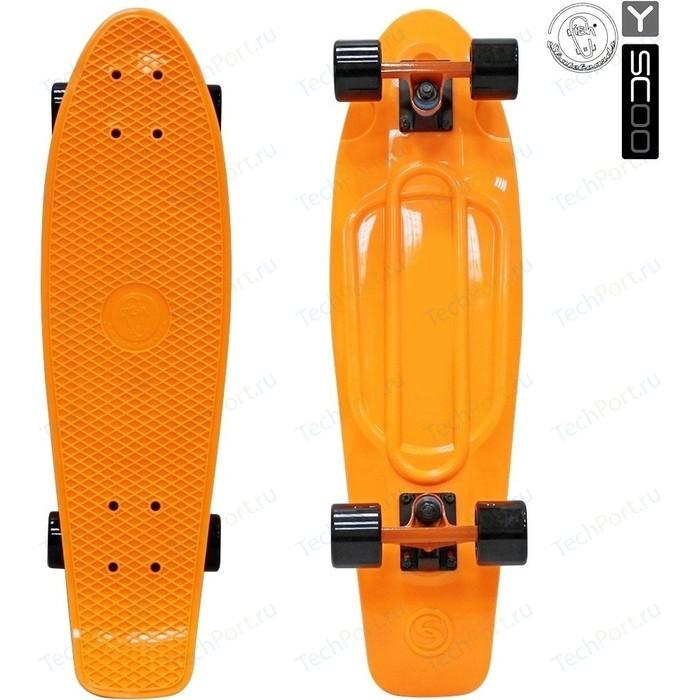 Скейтборд RT 402-O Big Fishskateboard 27 винил 68,6х19 с сумкой ORANGE/black
