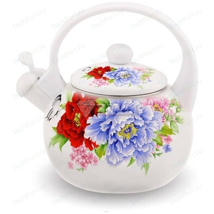 Чайник эмалированный 2.5 л Kelli KL-4410