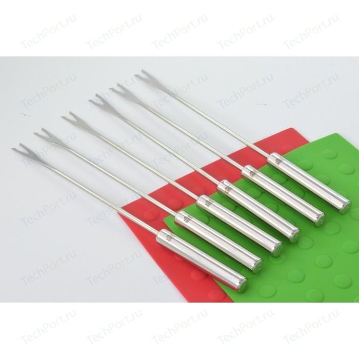 Набор вилок для фондю 6 штук Stahlberg (5740-S) набор вилок для фондю stahlberg 6 предметов 2 зубца