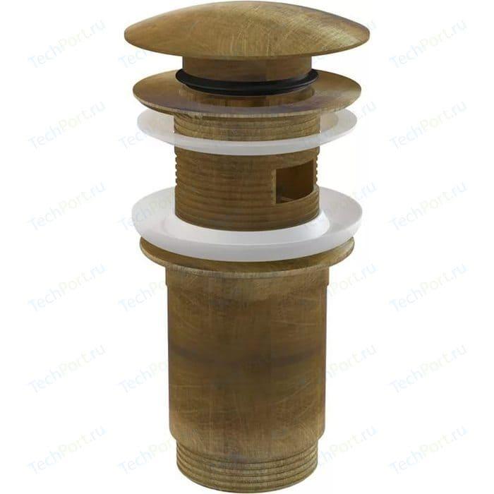 Донный клапан для раковины AlcaPlast бронза (A392 ANTIC)