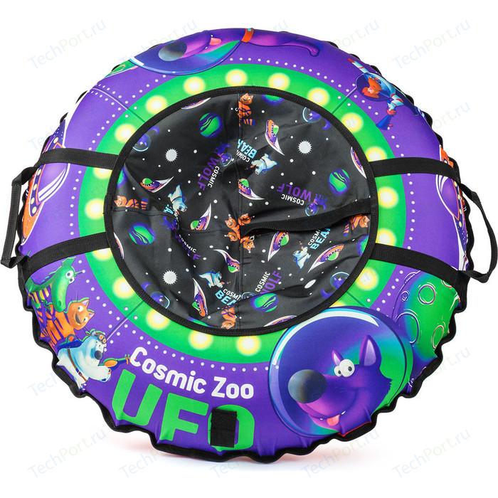 Тюбинг Cosmic Zoo UFO Фиолетовый (волк) (472063/цв 472067)