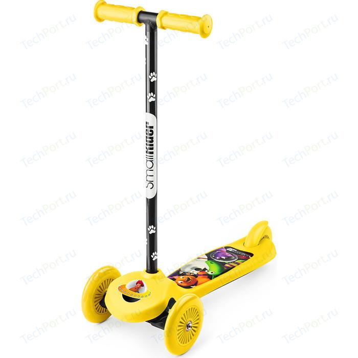 Самокат 3-х колесный Small Rider Cosmic Zoo Scooter Желтый (1233592/цв 1233594)