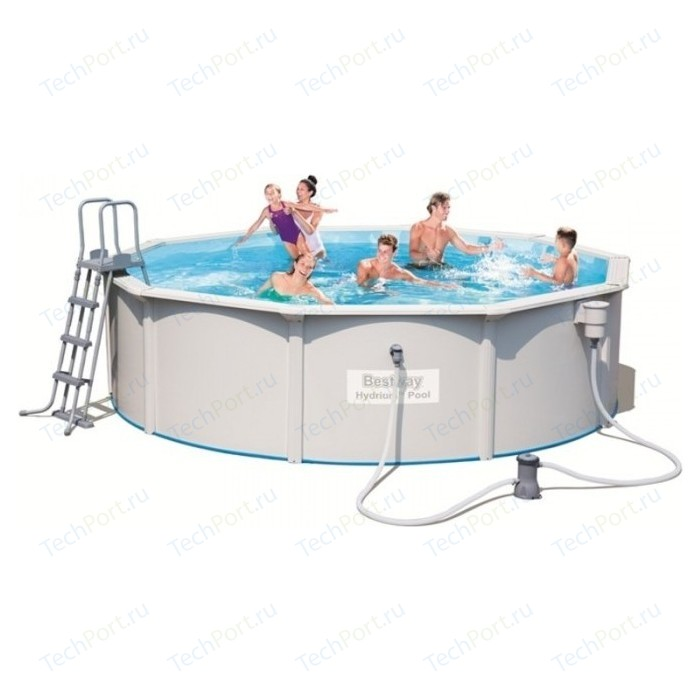 Каркасный бассейн Bestway 56382 Hydrium Pool Set 460х120 см