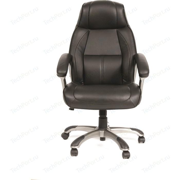 Офисное кресло Chairman 436 Россия кожа черная