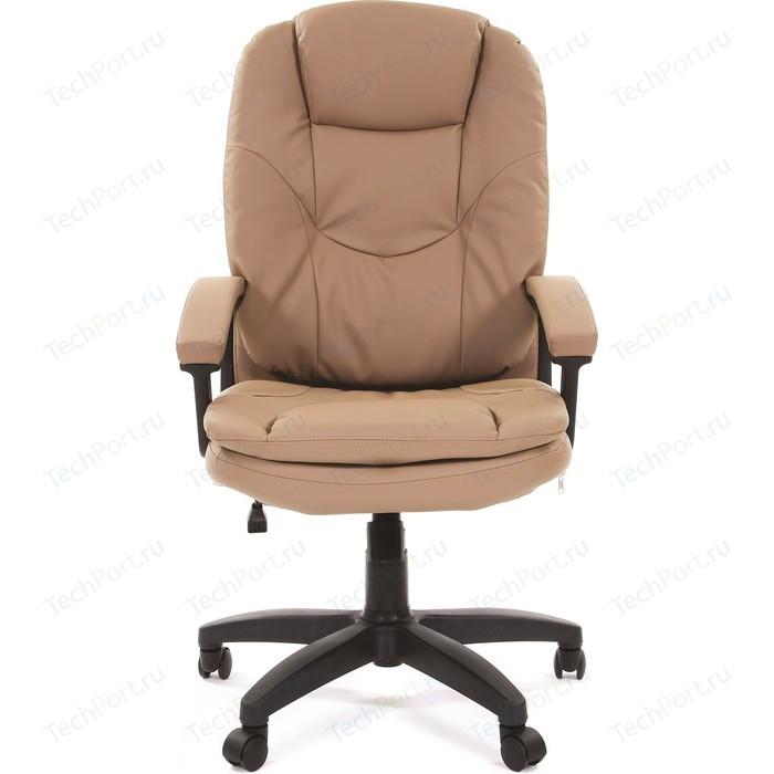 Офисное кресло Chairman 668 LT экопремиум бежевый